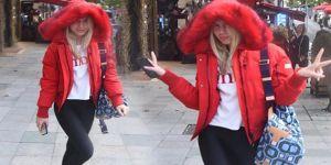 Aleyna Tilki'nin kış modası