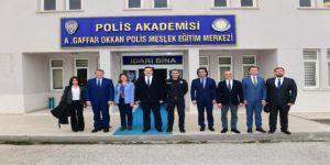 Rektör Çomaklı'dan, Polis Meslek Yüksekokulu Müdürü Yarım'a Ziyaret