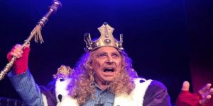 Erdal Özyağcılar, 'Kral'da 'Tanrı Kralı' canlandırdı