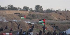 Gazze sınırında 40 kişi yaralandı