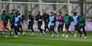 Türkiye, İsveç maçının hazırlıklarını tamamladı