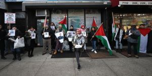 İsrail'in Filistinlilere saldırıları protesto edildi