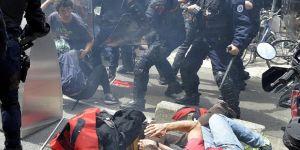 Fransa'da protestocuyu ezerek öldüren kadın hakkında soruşturma başlatıldı