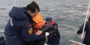 10 göçmen kurtarıldı