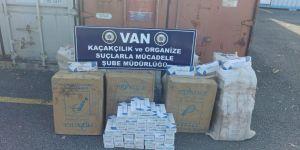 5 bin paket kaçak sigara ele geçirildi