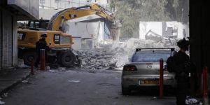 İsrail, Filistinlilere ait 14 dükkanı yıktı