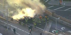 Brooklyn Köprüsü'nde kaza: 1 ölü