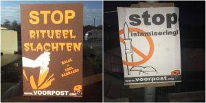 Camiye İslamofobik saldırı yapıldı