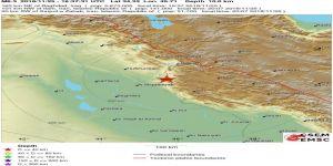 İran'da 6,4 büyüklüğünde derem