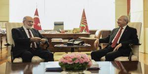Kılıçdaroğlu-Karamollaoğlu görüşmesi başladı