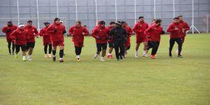 DG Sivasspor, Başakşehir maçı hazırlıklarını sürdürdü