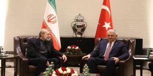 Yıldırım, İranlı mevkidaşı ile görüştü