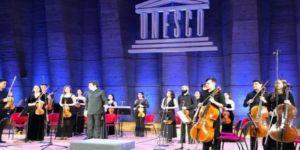 UNESCO'da TÜRKSOY konseri ve sergisi
