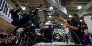 New York Uluslararası Motorsiklet Show başladı