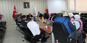 Farabi'de personel toplantısı yapıldı