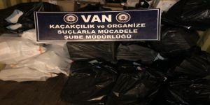 14 bin 110 paket kaçak sigara ele geçirildi