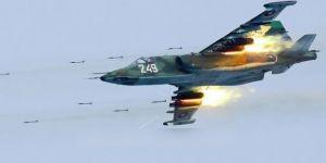 Türkiye sınırında Rus yapımı savaş uçağı düştü!