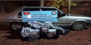 3 bin paket kaçak sigara ele geçirildi