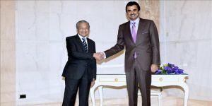 Katar Emiri, Malezya Başbakanı ile görüştü