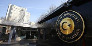 Dışişleri Bakanlığı, terör saldırısını kınadı