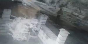 15 bin TL'lik inşaat malzemesini çaldılar