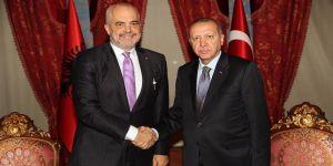 Erdoğan, Arnavutluk Başbakanı'nı kabul etti