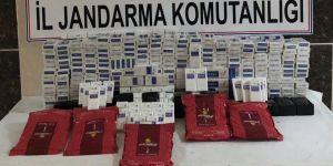 4 bin 220 paket kaçak sigara ele geçirildi