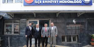 Karabacak, Aksoy'u ziyaret etti