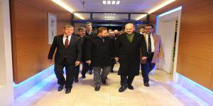 Bakan Soylu Rize Emniyet Müdürü Verdi'nin şehit edilmesinin ardından Trabzon'a geldi