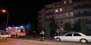 5. kattan düşen yaşlı adam hayatını kaybetti