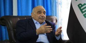Abdulmehdi: ABD'nin İran'a yaptırımlarının parçası değiliz