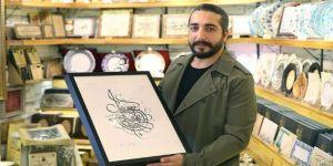 Kaligrafi sanatçısı Muhammed Başdağ'dan Chicago Bulls'a özel çizim