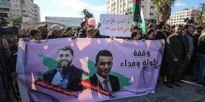 İsrail'in 3 Filistinliyi öldürmesi protesto edildi