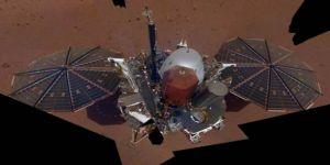 InSight uzay aracı, Mars'ta 'selfie' yakaladı