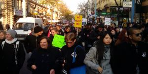 50 bin kişi hükümeti protesto etti
