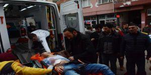 Karnından bıçaklanan şahıs ağır yaralandı