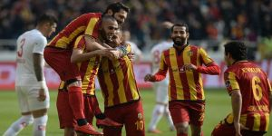 Evkur Yeni Malatyaspor evinde kazandı