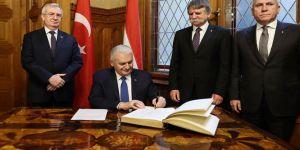 TBMM Başkanı, Macaristan Meclisinde