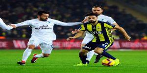 Spor Toto Süper Lig: Fenerbahçe: 2 - BB Erzurumspor: 2 (Maç sonucu)
