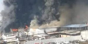Fabrikada yangın: 11 ölü