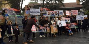 Suudi Arabistan Konsolosluğu önünde protesto