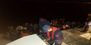 87 göçmen yakalandı