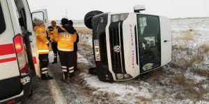 Kar, kazaları da beraberinde getirdi