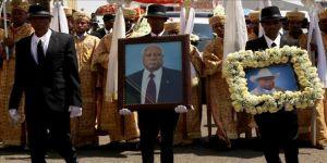 Etiyopya eski Cumhurbaşkanı son yolculuğuna uğurlandı