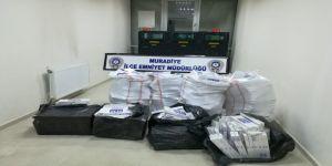 7 bin 898 paket kaçak sigara ele geçirildi