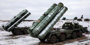 Kırım'da bulunan S-400 muharebe ekipleri hava savunma tatbikatı yaptı
