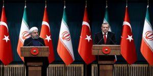 Erdoğan ile Ruhani basın toplantısı düzenliyor