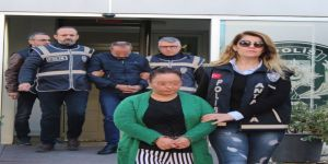 Emekli öğretmenin katil zanlısı komşu kadın tutuklandı