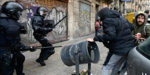 Katalonya'da İspanya karşıtı gösteri