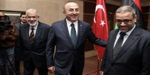Bakan Çavuşoğlu, El-Meşri ile görüştü